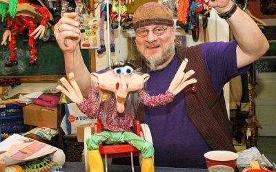 Marionettenbauer Peter Beyer
